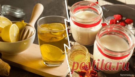 3 нестандартных, но полезных напитка для похудения