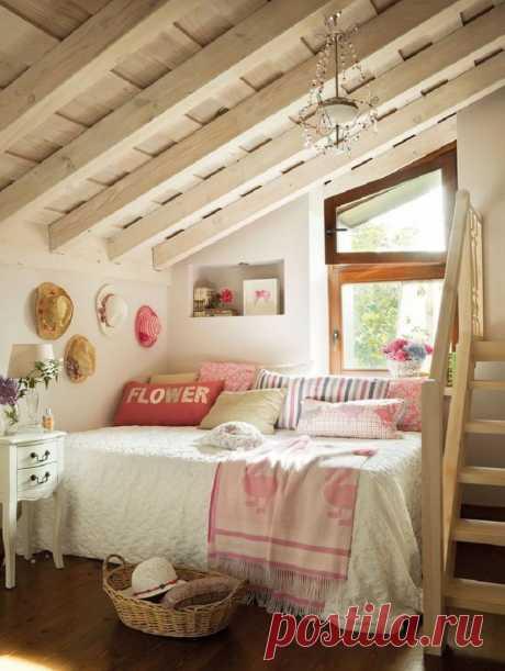 Как сделать отличный жилой чердак | Роскошь и уют