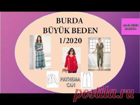 Burda Plus 1/2020 - YouTube