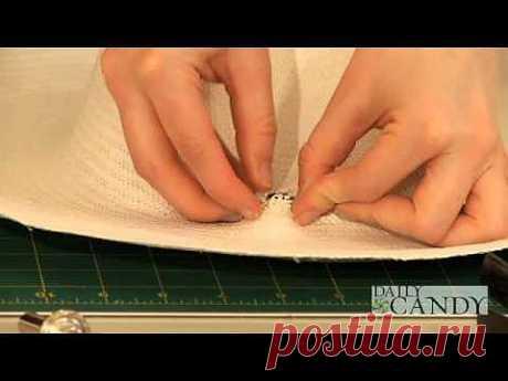Видео мастер-класс по декору шляп / Головные уборы / Модный сайт о стильной переделке одежды и интерьера