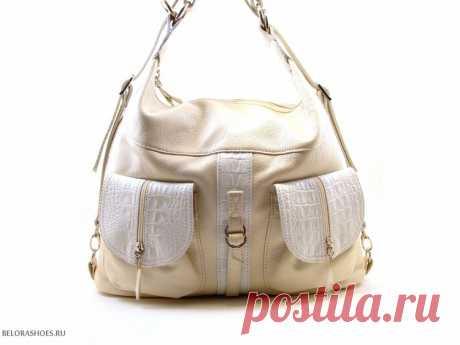Сумка-рюкзак женская 3 Оригинальная практичная сумка рюкзак с двумя независимыми отделениями
