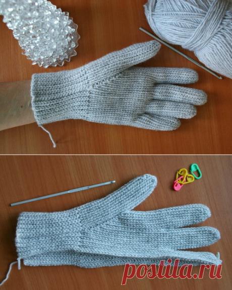 Можно ли связать крючком соединительными петлями перчатки? - Тамбурное вязание - Страна Мам