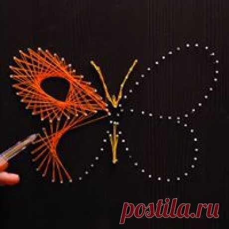 Завораживающие картины нитками