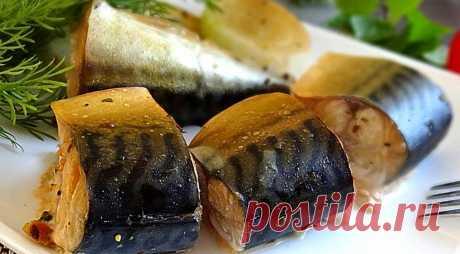 Скумбрия – коптим на природе, пошаговый рецепт с фото