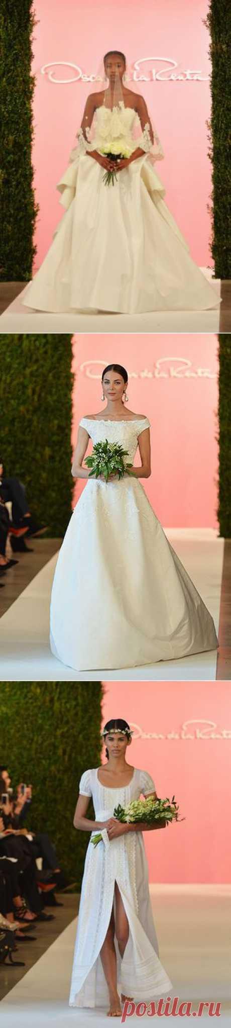 Bridal Fashion Week: показ Oscar de la Renta