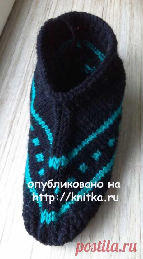Следки спицами. Работа Ольги Ярославской, Вязание для женщин