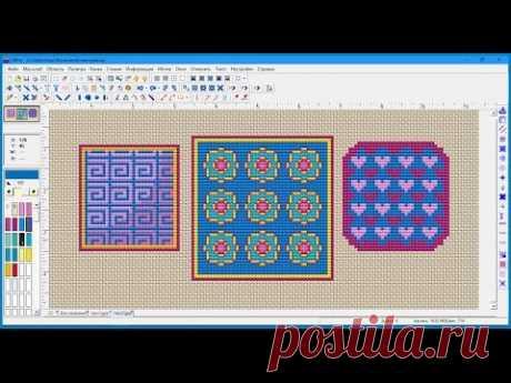 Программа Cross Stitch Professional Platinum — работа с текстурами, создание своей библиотечной текстуры и мотива