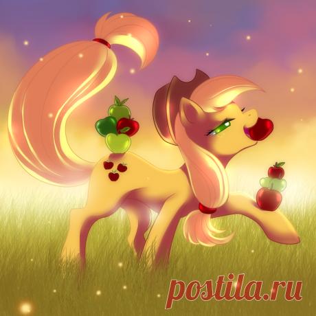 Applejack-Proud by Jacky-Bunny