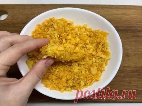 Лучшая панировка для для любого мяса или котлет: никаких сухарей, манки и кукурузных хлопьев | Рекомендательная система Пульс Mail.ru