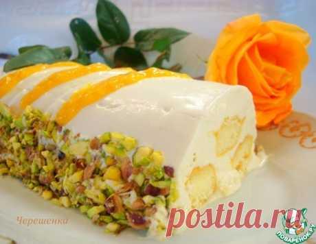 Творожно-манговое парфе – кулинарный рецепт