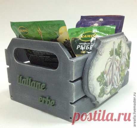 Короб и подставка для специй – купить в интернет-магазине на Ярмарке Мастеров с доставкой - CCWR1RU