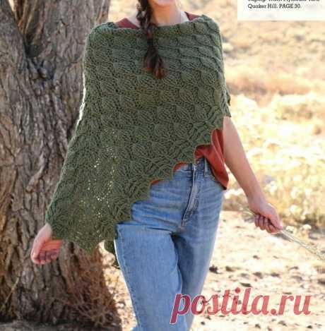 Красивые шали. Вязание крючком | Рекомендательная система Пульс Mail.ru