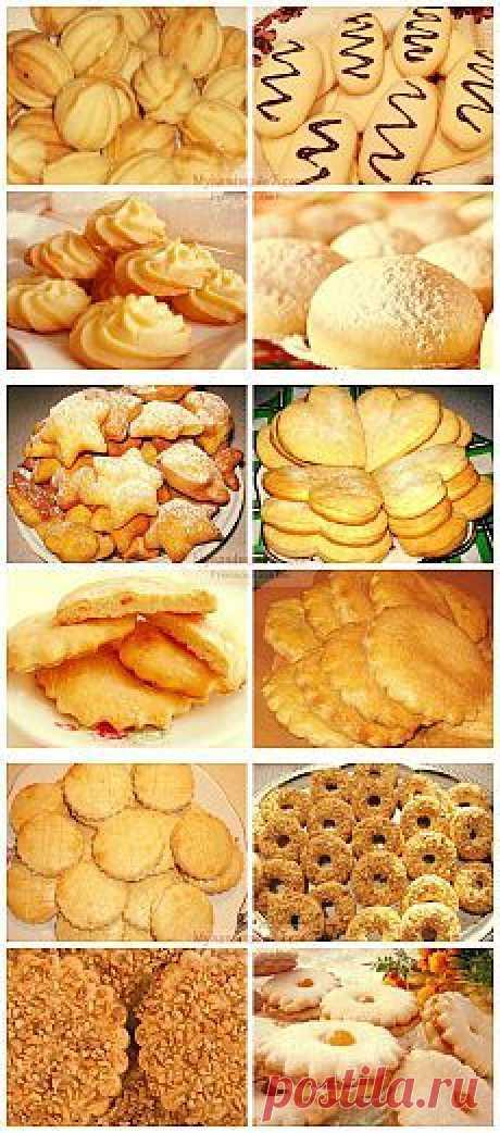 Печенье на скорую руку: Лучшие рецепты.