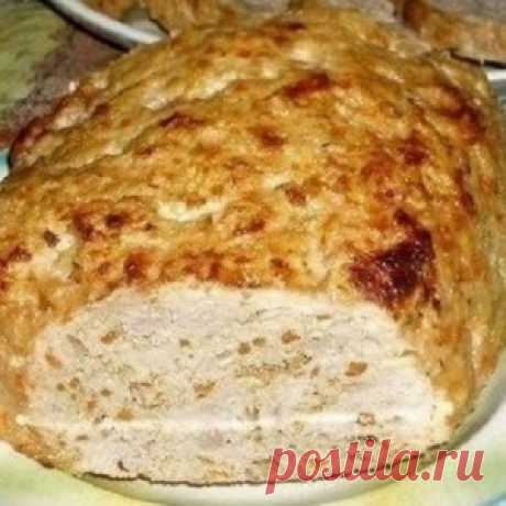 For a long time I do not eat some cutlet. And all because found it excellent alternative — meat long loaf!