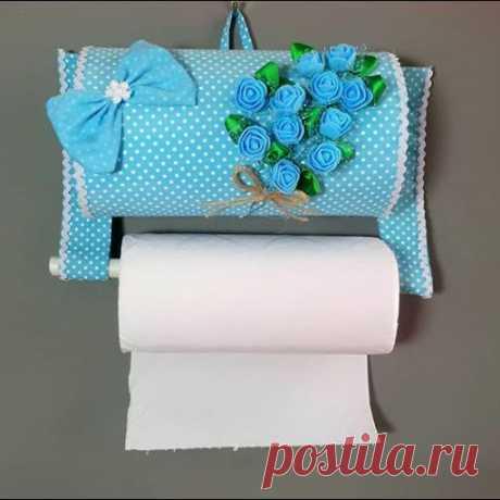 Как сделать органайзер для туалетной бумаги своими руками