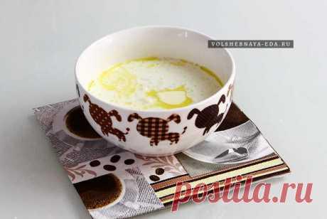 Молочный суп с рисом | Волшебная Eда.ру