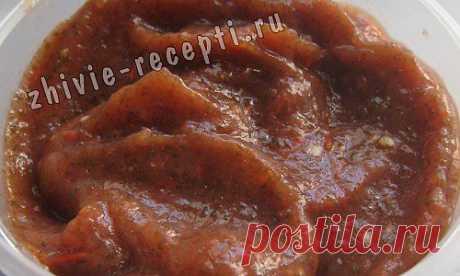 Вкусный кетчуп из свежих томатов | Живые рецепты, сыроедение, здоровье, продукты без тепловой обработки, польза сыроедения