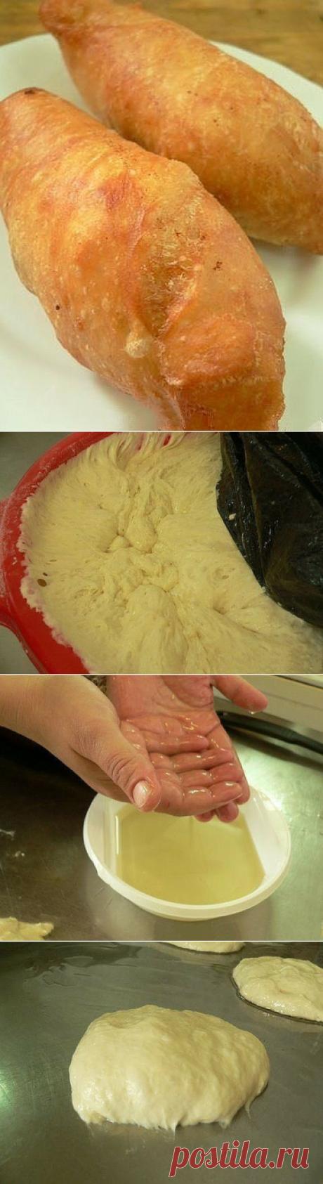 Знаменитые ливерные пирожки из жидкого теста