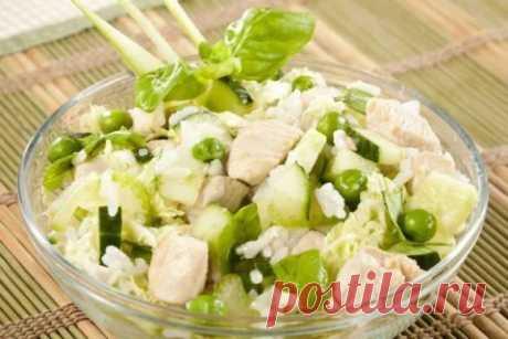 Топ-9 вкусных весенних салатов