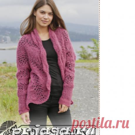 Женское пальто и кардиган спицами или крючком - Результаты из #90