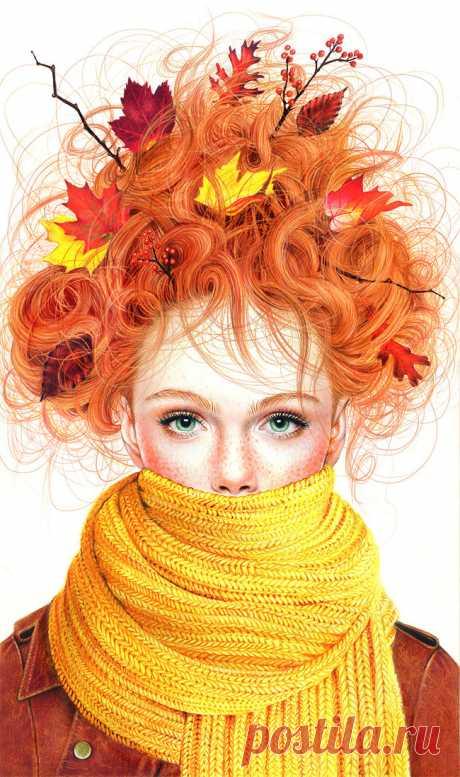 Фотореализм цветными карандашами от Морган Дэвидсон