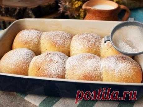 Булочки Бухтельн - простой и вкусный рецепт с пошаговыми фото