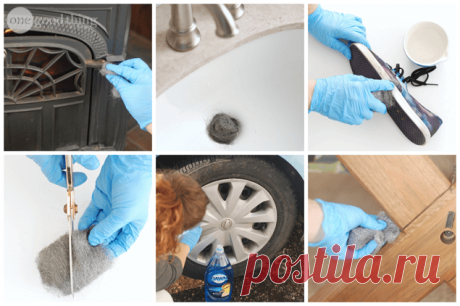 """10 unexpected ways of use of a wire bast you Know such material? A usual metal bast for cleaning and polishing of pans — a wire bast, it is called still \""""steel cotton wool\"""". Steel cotton wool is a texture of very thin fiber of steel..."""