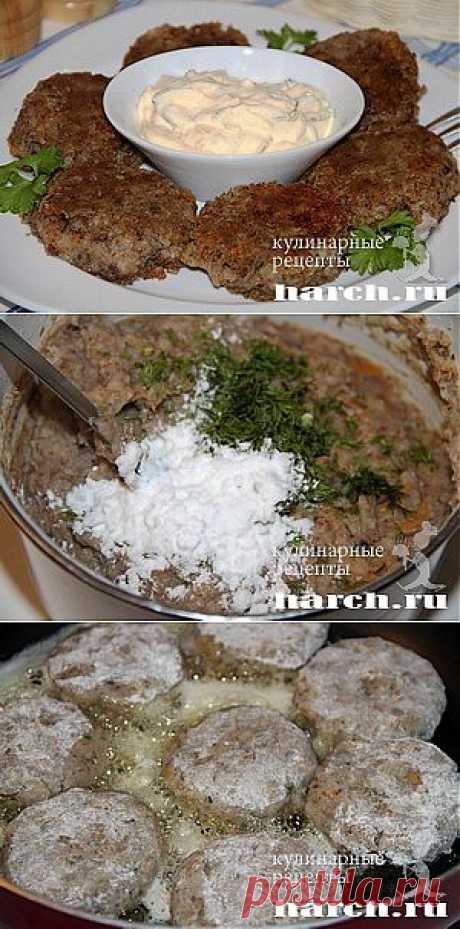 Котлеты из гречки с грибами.