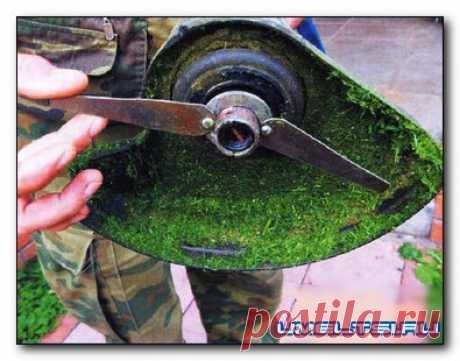 Ножевая насадка для триммера » Самоделки своими руками - сделай сам