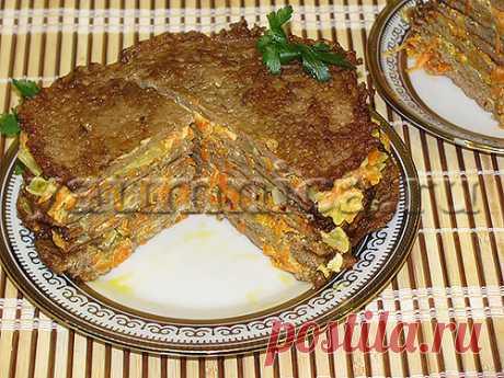 Печеночный торт – рецепт с фото - Пошаговые рецепты с фото