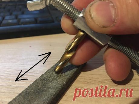 Точилка для заточки мелких сверл. Показываю как её собрать из 3 метизов | Валерий Ермаков. Не только ножи. | Яндекс Дзен