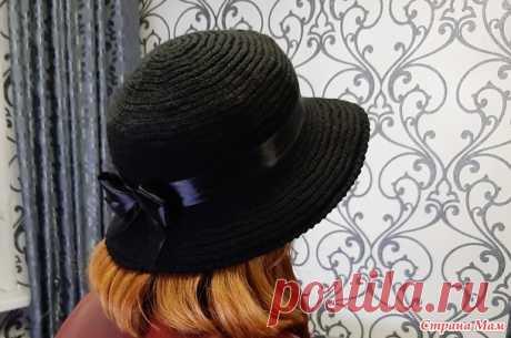 Теплая шляпка - Вязание - Страна Мам