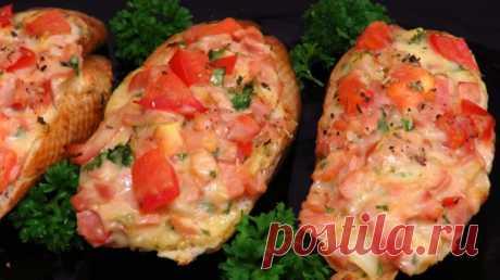 Вкусные горячие бутерброды за 10 минут: быстрый перекус