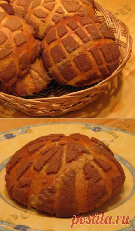 Мексиканские сладкие булочки Conchas | Печём дома