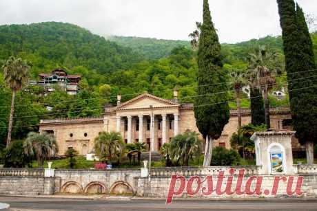 Абхазия:Достопримечательности популярного курорта - Гагра!