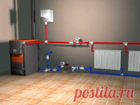 Двухтрубная система отопления частного дома: схемы устройства и обзор преимуществ 🚩 Ремонт дачии