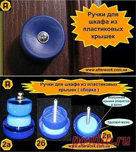 Las manos para el armario de plástico kryshechek | Es creado Después del Trabajo