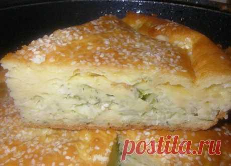 Вкусный и сытный пирог с капустой