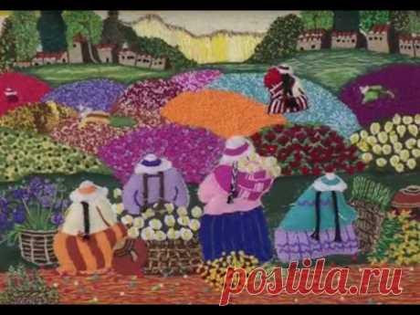 Como Bordar con Tecnica Guatemalteca- Hogar Tv  por Juan Gonzalo Angel