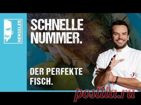 """Schnelles """"Der Perfekte Fisch""""-Rezept von Steffen Henssler"""