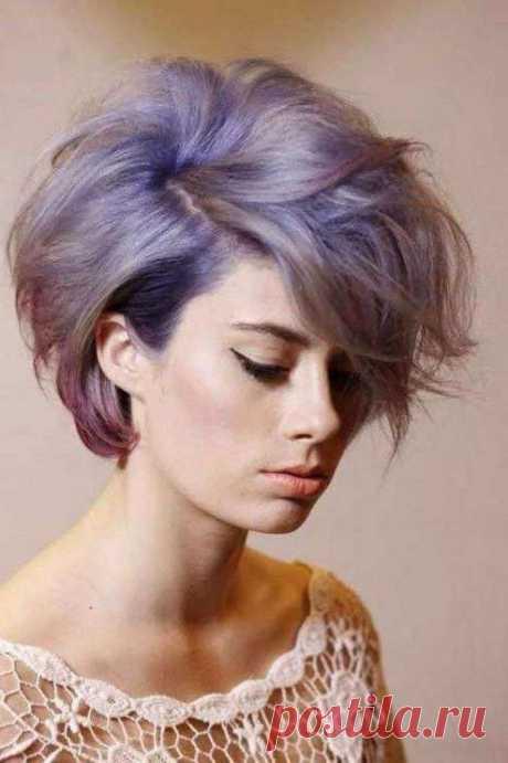 Модные оттенки и техники окрашивания на короткие волосы 2020 год