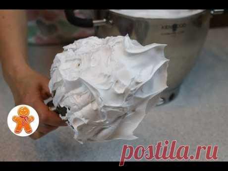 Белковый Заварной Крем Очень Подробно ✧ Итальянская Меренга ✧ Школа Домашнего Кондитера