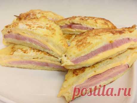 Сэндвич, который просто тает во рту. Десять минут и вкуснейший завтрак готов - Вкусные рецепты - медиаплатформа МирТесен