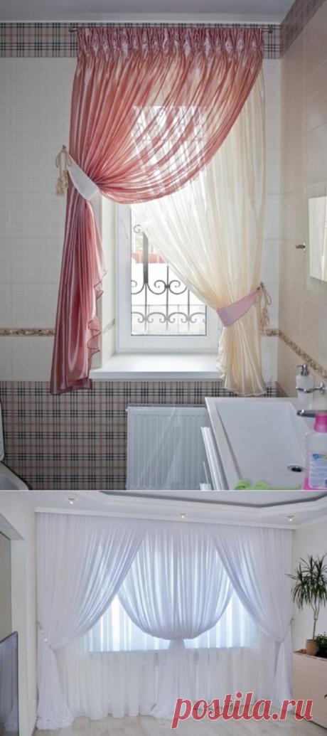 Красивые идеи для дома с использованием тюли | Наши дома