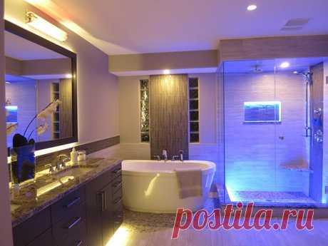 Освещение для ванной комнаты - строительство, ремонт, дизайн, интерьер