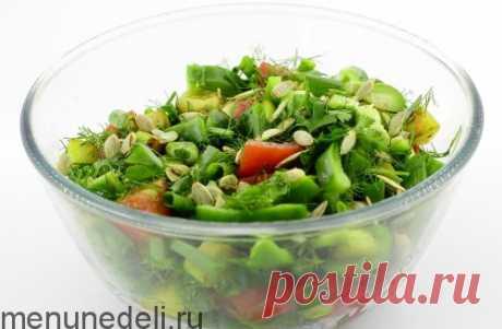 Рецепт салат с жареными кабачками — MEGOCOOKER