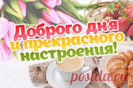 Доброго дня и прекрасного настроения картинки, прикольные и красивые картинки и открытки с пожеланием