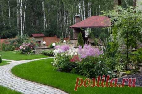 Беседка в ландшафтном дизайне: отличное место для отдыха всей семьи