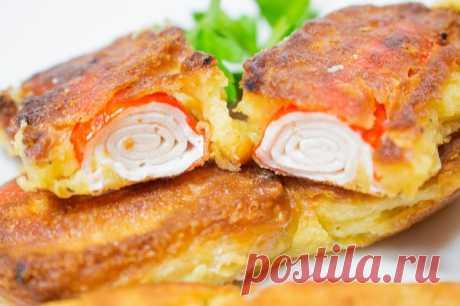 Крабовые палочки с сыром / Простые рецепты