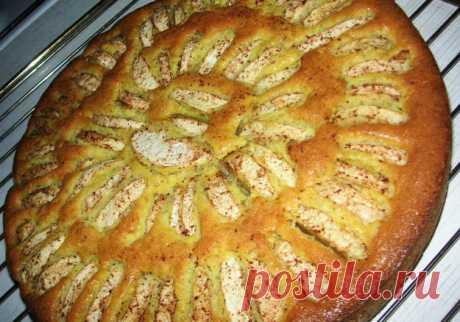 Бабушкин яблочный пирог самый вкусный - сайт кулинарии